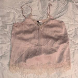 Blush pink cami top